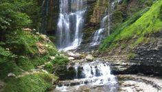 Sentier des cascades au Cirque de Saint-Même (Chartreuse)