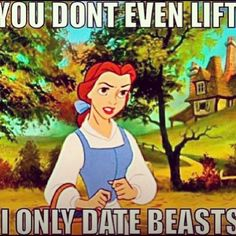Hahaha!! This is awesome. And me from now on. Only a Beast will do!