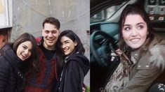 Turkish Actors Latest Clicks, Cagatay Ulusoy, Hande Ercel, Burak Ozcivit