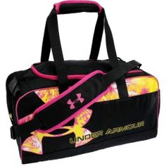 Under Armour Dauntless Printed Small Duffle Bag - Dick's Sporting Goods Nike Under Armour, Under Armour Shoes, Volleyball Outfits, Beach Volleyball, Volleyball Bags, Mochila Nike, Cute Bags, School Bags, Tote Handbags