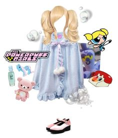 """""""Teenage Bubbles💙"""" by dazzling-pink-elaina ❤ liked on Polyvore featuring My Little Pony"""