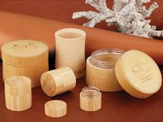 Eco friendly bamboo jars from CPL Packaging - CPL Packaging - Asian Bottles and Jars Packaging Innovations