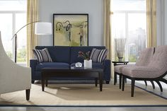 My Style Collection from Rowe Furniture: Choose  your arm, nail head, finish, cushion, & feet!