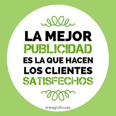 Frase marketing. Publicidad. Clientes. Ecommerce. Marketing online.
