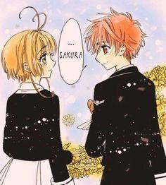 Sakura y Shaoran reencuentro