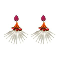 Falcon Earrings, now featured on Fab.