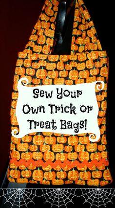 DIY Trick or Treat Bags : The Chirping Moms
