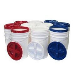 @Overstock - Prepare yourself with this pack of ten gamma-seal pail kit. Emergency food supplies or other products can be kept in this air-tight pail. Pet food, boat supplies, or other items can be stored safely and dry with this water-resistant pail.http://www.overstock.com/Emergency-Preparedness/Augason-Farms-Gamma-Seal-Pail-Kit-Pack-of-10/6635565/product.html?CID=214117 $140.99