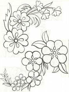 Disegni Per Ricami A Mano Gratis.61 Fantastiche Immagini Su Disegni Da Ricamo A Mano Embroidery