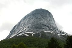 Can you see it? It's a face on the mountain - winks at me when we pass. Half Dome, See It, Planet Earth, Norway, Planets, Mountains, Face, Nature, Travel