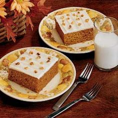 Pumpkin Sheet Cake - to try