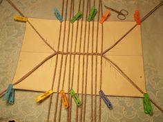 Тема: мои работы (102/119) - Плетение из газет и другие рукоделия - Плетение из газет