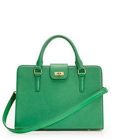 J.Crew Edie attaché bag
