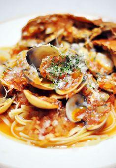 Crayfish + Clams Pasta