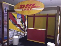 Dhl booth done for Jamaica diaspora conference