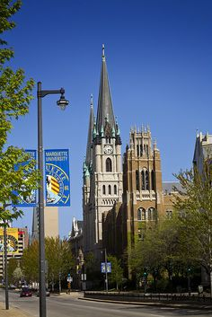 Marquette University- Milwaukee, WI - I remember going to the Homecoming Parade when I was a child