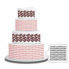 Cake Stencil,Classic Cake Side Decoration,Cake Border Stencils,Wedding Stencils,Cupcakes Decoration Stencil MSKU4794299 by RUSTIKOcakeDecoratio on Etsy