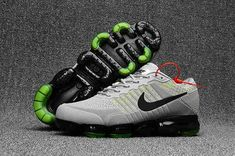 100% authentic ad0c8 de295 Nike Air Max 2018 Wholesale Nike Air Max 2018 Nike Air VaporMax Flyknit New  Rlease 2017 Light Grey Green Fashion Sports Shoe For Discount