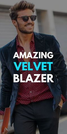 Velvet Blazer Outfits for Men 2019 Black Velvet Blazer, Green Blazer, Green Pants, Cool Hairstyles For Men, Men's Hairstyles, Blazer Outfits Men, Red Turtleneck, Grey Trousers, Yellow Shirts