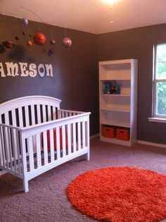 solar system nursery baby room - photo #20