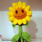 OVER 150 FREE Crochet Flowers & Plants Patterns (some in English & Some in Spanish)