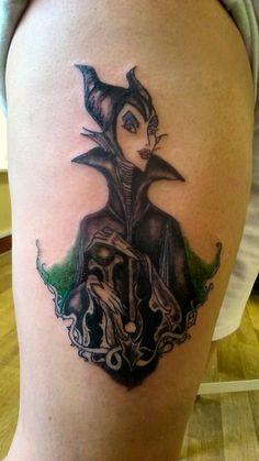 maleficent tattoo | Disney tattoos | Pinterest | Maleficent Tattoo ...