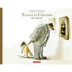 tous les Ernest et Célestine de Gabrielle Vincent Ernest Et Celestine, Album Jeunesse, Expositions, Painted Paper, Illustrations, Story Time, Muse, Books To Read, Childhood