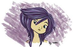 Violet by hattu