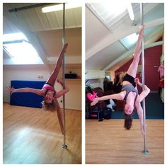 Plus signs! So epic! Pole dancing, pole fitness, strength, flexibility, still smiling! Pole Position Scotland