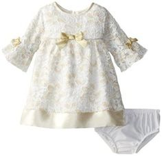 Baby Girls Newborn Glitter Lace Dress