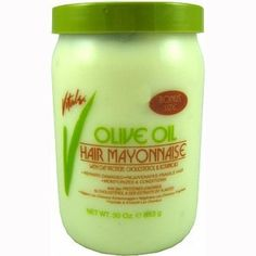 This is the mayo my sister prefers which I am currently using. I can't lie: it's a great product even though I have a personal favourite. Just like with the Organic Root Stimulator brand, I just add a dollop to the sections of my hair, do some big twists and put on a shower cap. I always wrap it with a towel and go about other activities for at least an hour to give my hair a nice treatment. It strengthens hair and makes it feel super soft and loved :-).