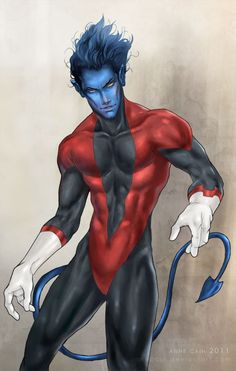 X-men: Nightcrawler 2 by annecain.deviantart.com on @deviantART  #Nightcrawler