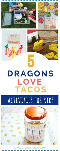 5 Best Dragons Love Tacos Activities for kids, Pre-School crafts, Beyond the Book, Children's Picture Book Lessons, Salsa Slime Recipe + Free Printable, Letter Recognition, Fire-breathing Craft, Jello Wash Station, Taco Bar, Days with Grey, Grace, Giggles & Naptime, The Mama Workshop, Veggies & Virtue
