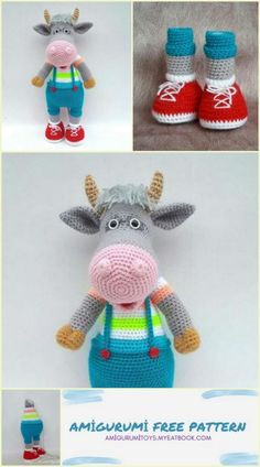 Crochet Animals, Crochet Toys, Knit Crochet, The Fold Line, How To Start Knitting, Amigurumi Patterns, Free Pattern, Buttons, Sewing