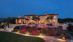$35 Million Mediterranean Mansion In Newport Coast, CA