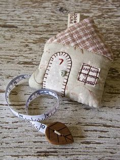 House Tape Measure by PatchworkPottery, via Flickr