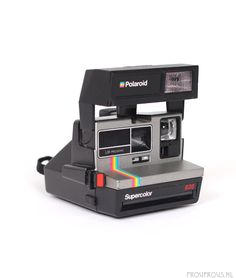 Polaroid OneStep Flash Red Stripe Instant Camera - film tested and working Retro Camera Polaroid, 600 Film, Close Up Lens, Retro Camera, Instant Camera, Focal Length, The Flash, Red, Retro Vintage