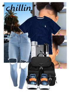 """""""Chill"""" by onikalove ❤ liked on Polyvore featuring Marc Jacobs, Prada and NIKE"""