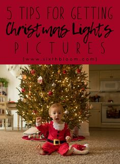 Christmas Light Pictures, How to, Tutorial, Photography Tips