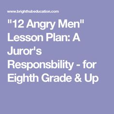 twelve angry men 12 angry men video guide original questions the o 39 jays originals and videos. Black Bedroom Furniture Sets. Home Design Ideas