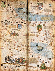 Atlas catalan, 1375 (Ms. BNF)