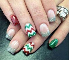 70 unique nail design ideas 2017 trendy nails nail art designs 25 christmas nail art designs that you will love to copy prinsesfo Choice Image
