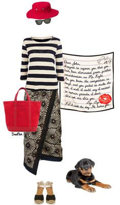"""Dear John letter"" by soofiia ❤ liked on Polyvore"