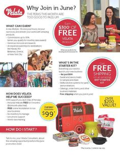 June is Jammin with this amazing offer to join Scentsy Family! I know I say this ALL THE TIME, but Velata is AMAZING and really, who can say no to this amazing opportunity? Join my Vision Conquerors team and let's build our business and reach success together! Contact me for more details!! https://gustomio.velata.us/join