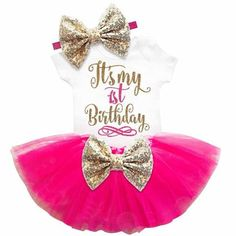 1st Birthday Tutu Outfit