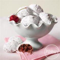 Mocha-Cherry Balls from Pillsbury® Baking