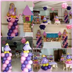 Rapunzel themed party!