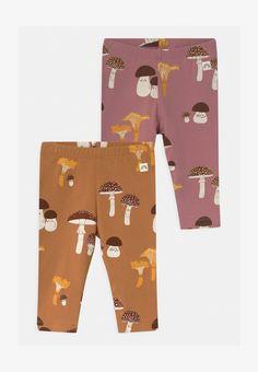 Lindex 2 PACK - Legginsy - dusty brown/dusty pink/wielokolorowy - Zalando.pl Leggings, Light Beige, Dusty Pink, Pajama Pants, Pajamas, Snoopy, Packing, Brown, Monkey
