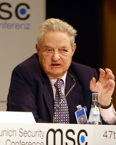 """George Soros (born August 12, 1930, as Schwartz György) is a Hungarian-born American business magnate, investor, & philanthropist. He is the chairman of Soros Fund Management. He is known as """"The Man Who Broke the Bank of England"""" because of his short sale of US$10 billion worth of pounds, giving him a profit of $1 billion during the 1992 Black Wednesday UK currency crisis. Soros is one of the thirty richest people in the world.   Soros is a well-known supporter of progressive-liberal…"""