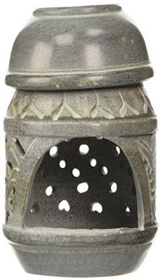 Essential Oil Soapstone Candle Diffuser - Celtic Knot